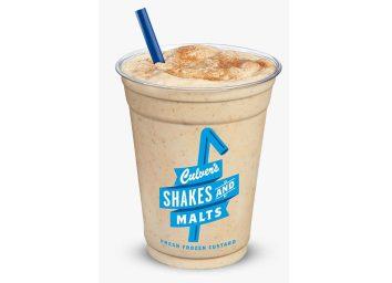 culvers pumpkin spice shake