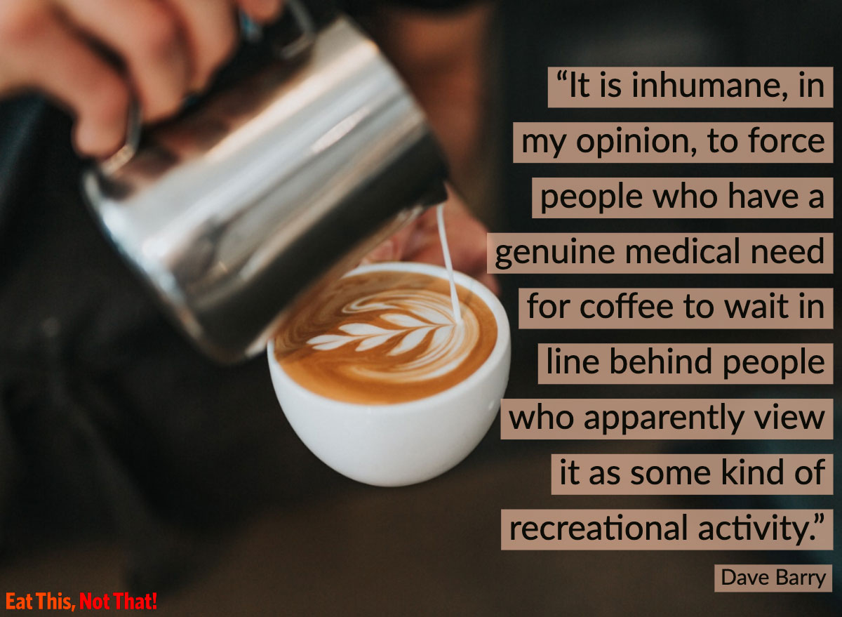 coffee quote dave barry
