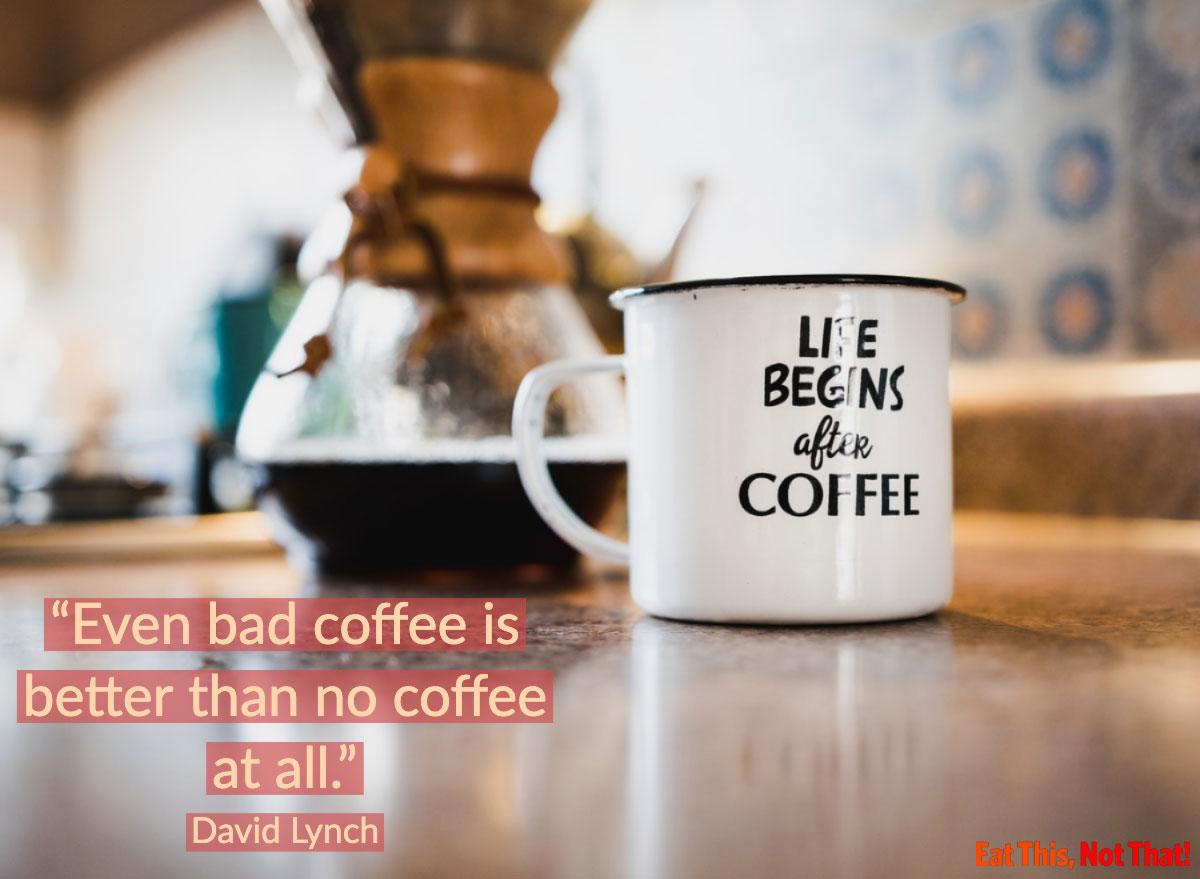 coffee quote david lynch