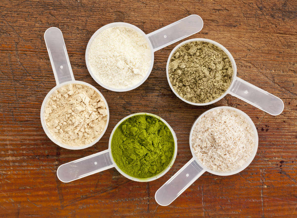 bulk foods Different types of protein powder plant animal whey