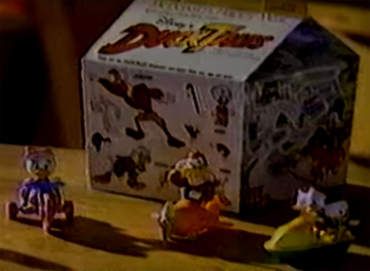 ducktales happy meal toy