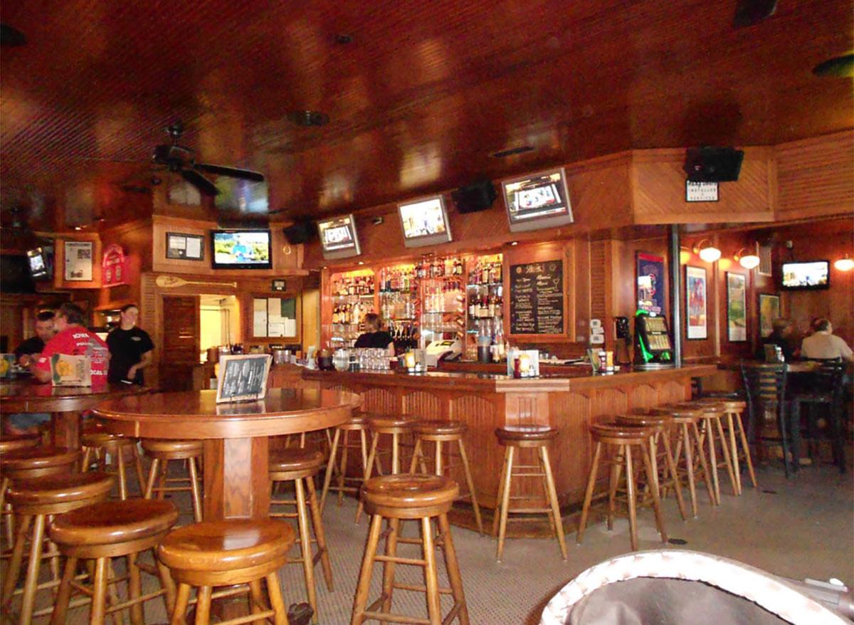 interior of francies bar in des moines iowa