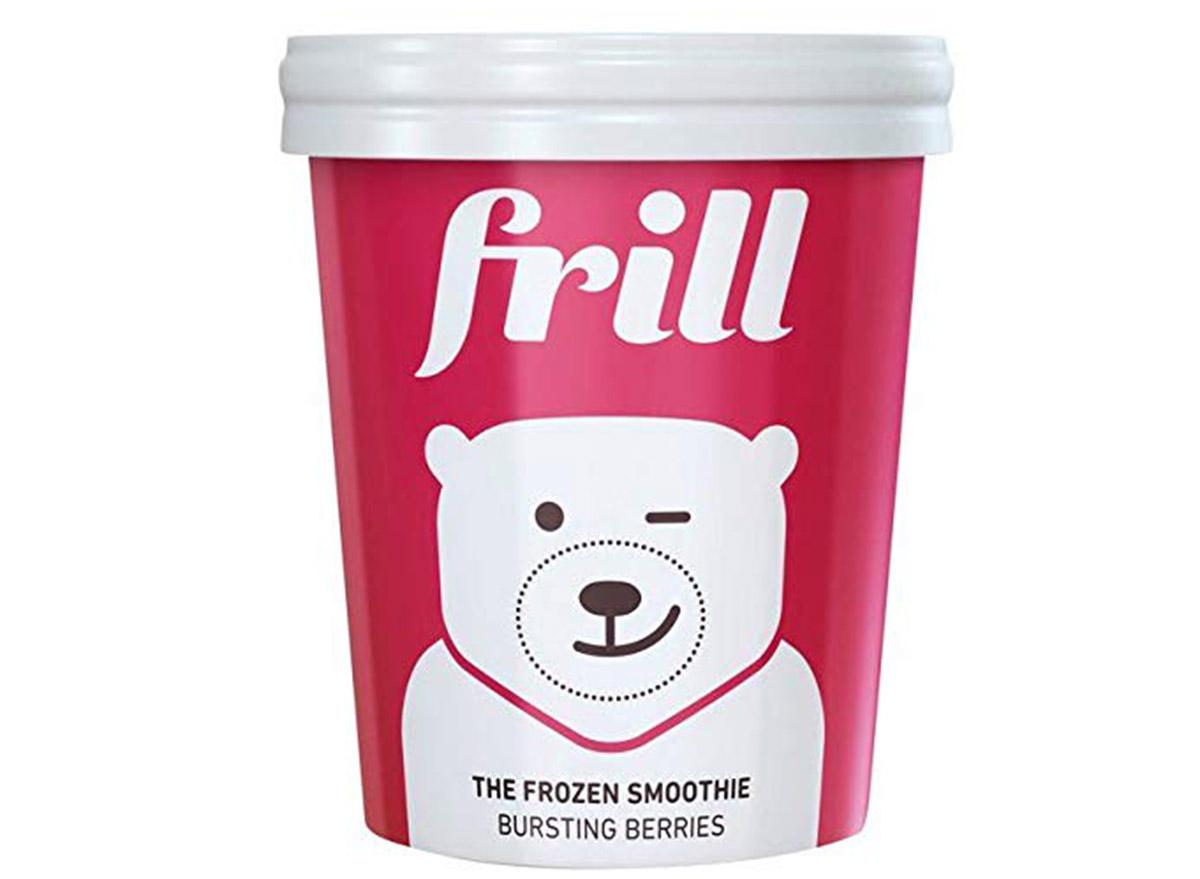 frill frozen smoothie