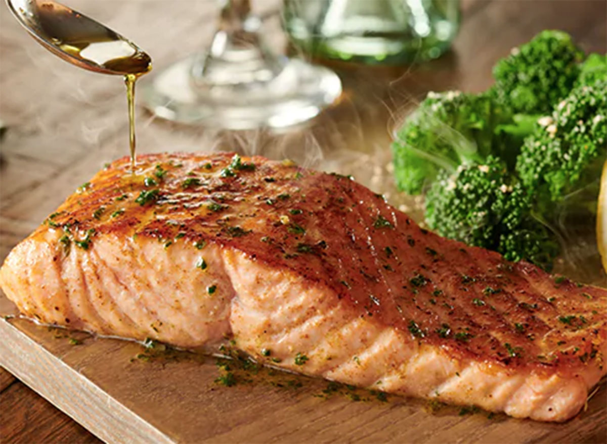 herb grilled salmon olive garden