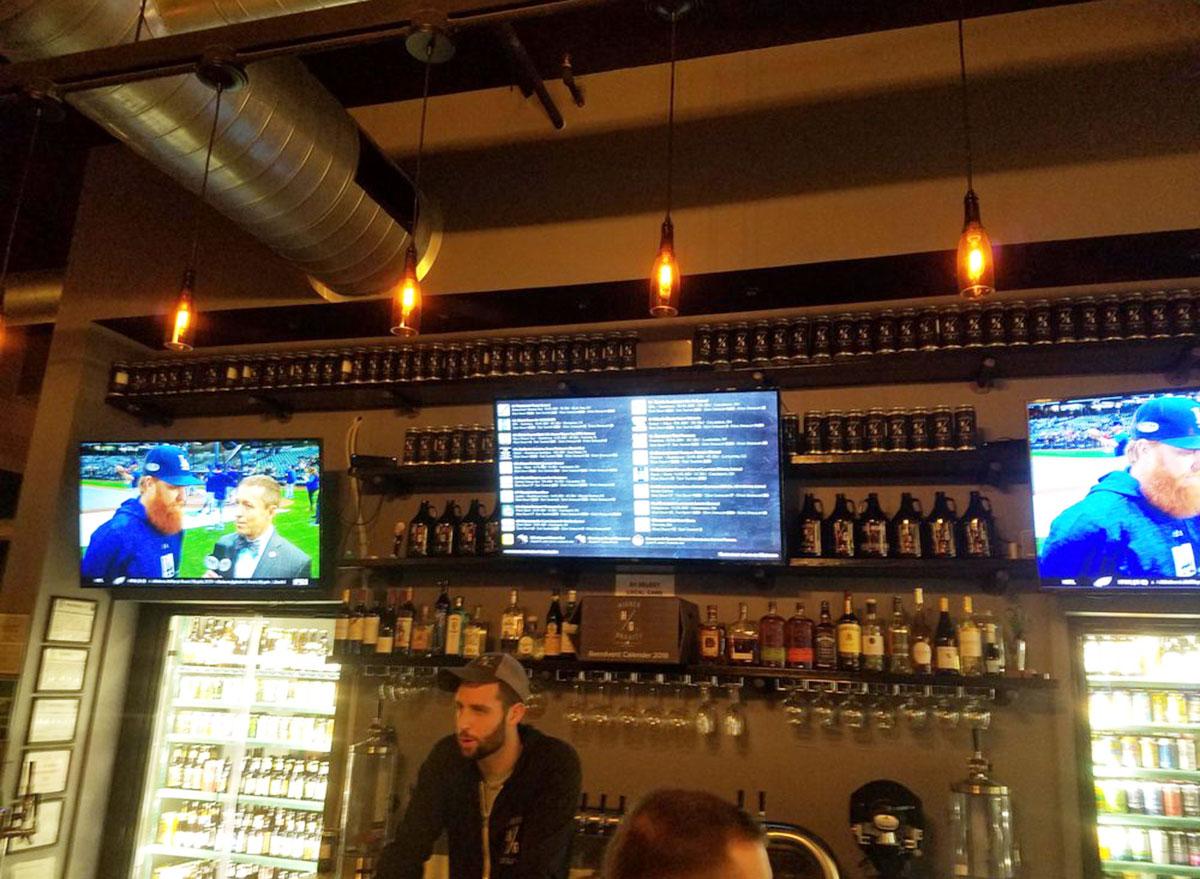 higher gravity sports bar ohio