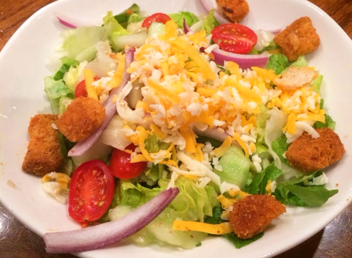 house salad from outback steakhouse