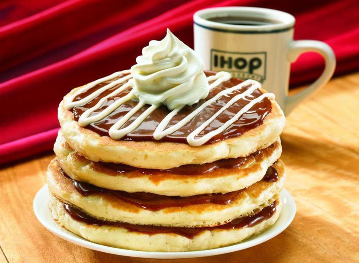 ihop cinnastack pancakes