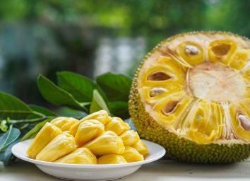 jackfruit sliced