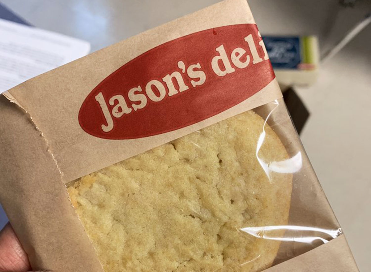 jasons deli sugar cookie in a bag