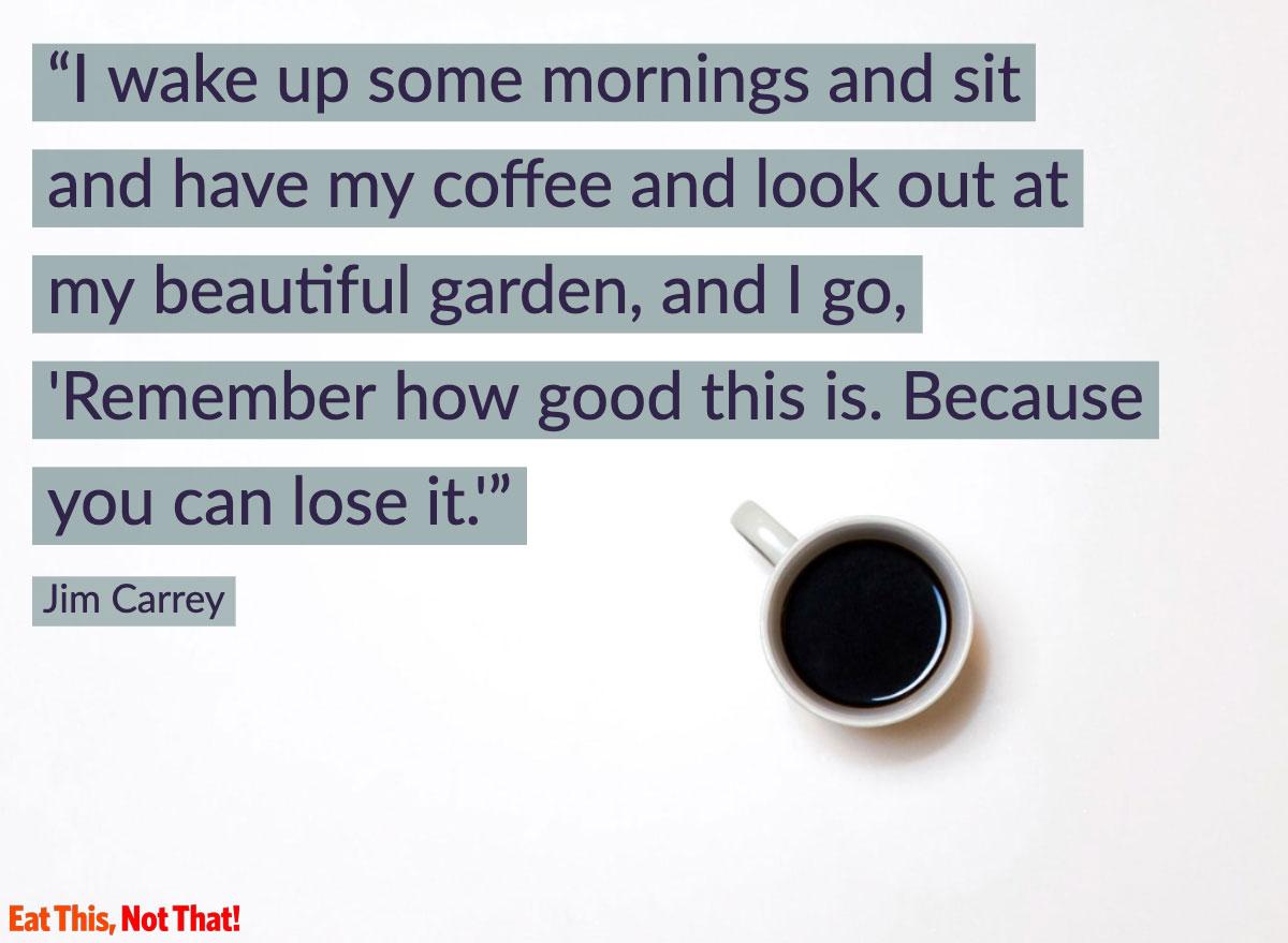 coffee quote jim carrey