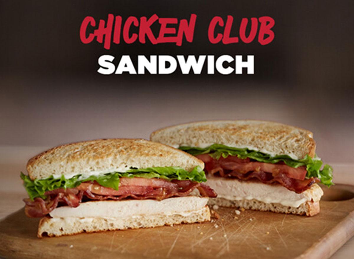 johnny rockets chicken club sandwich