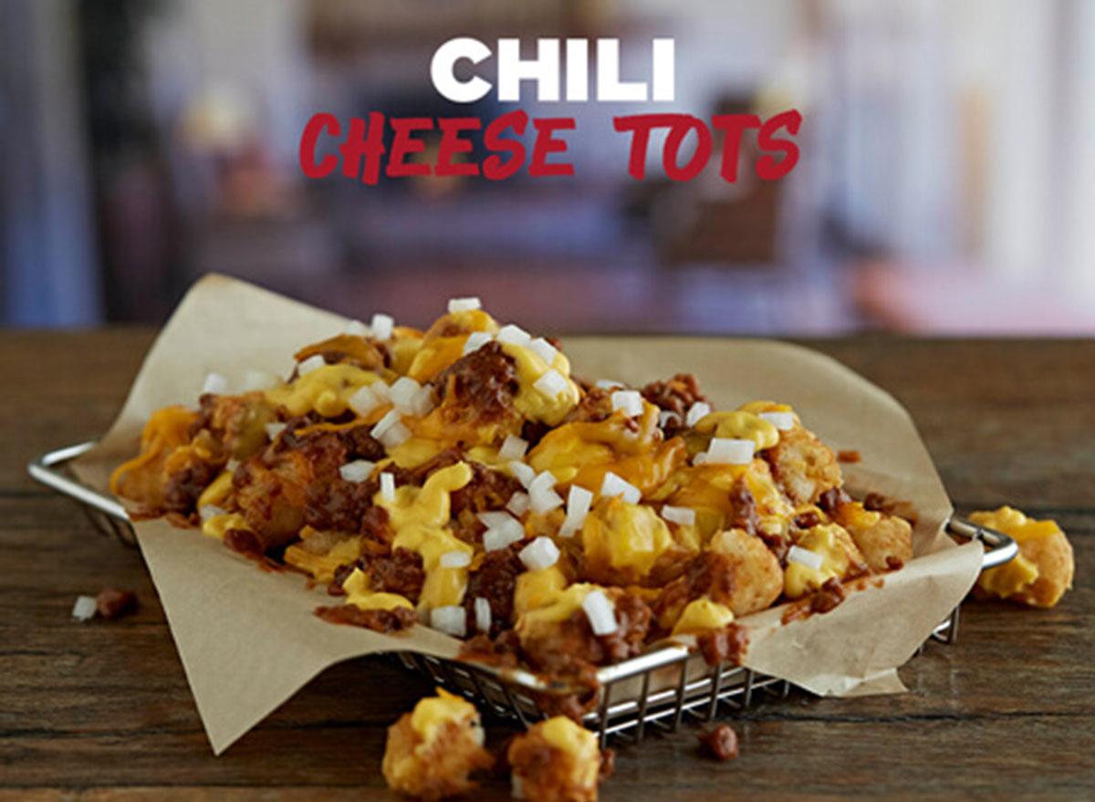 johnny rockets chili cheese tots