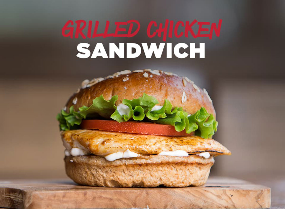 johnny rockets grilled chicken sandwich