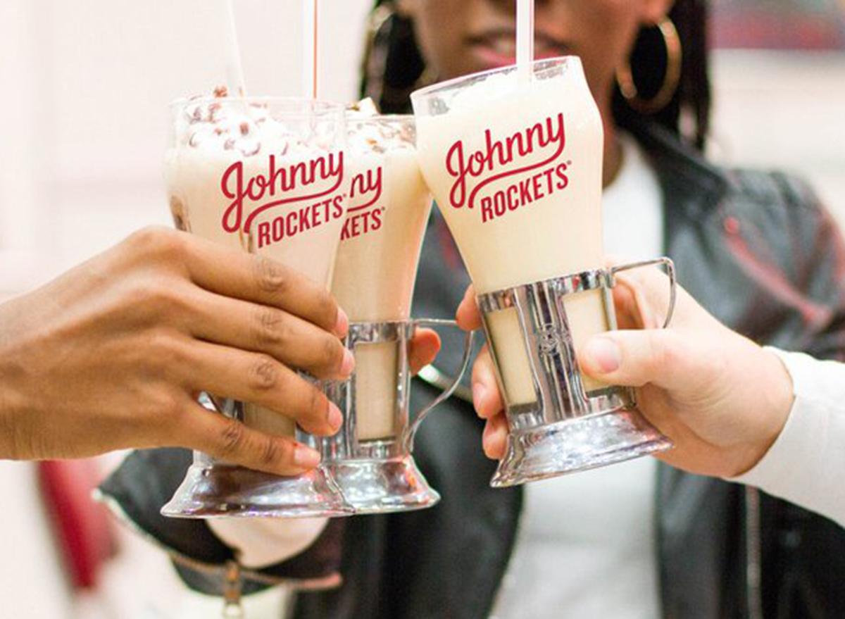 johnny rockets milkshakes