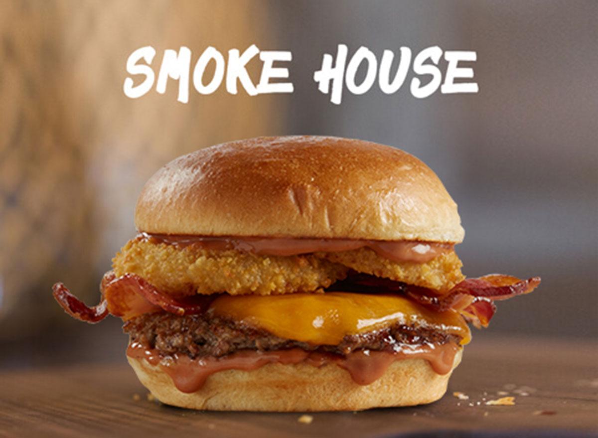 johnny rockets smoke house burger