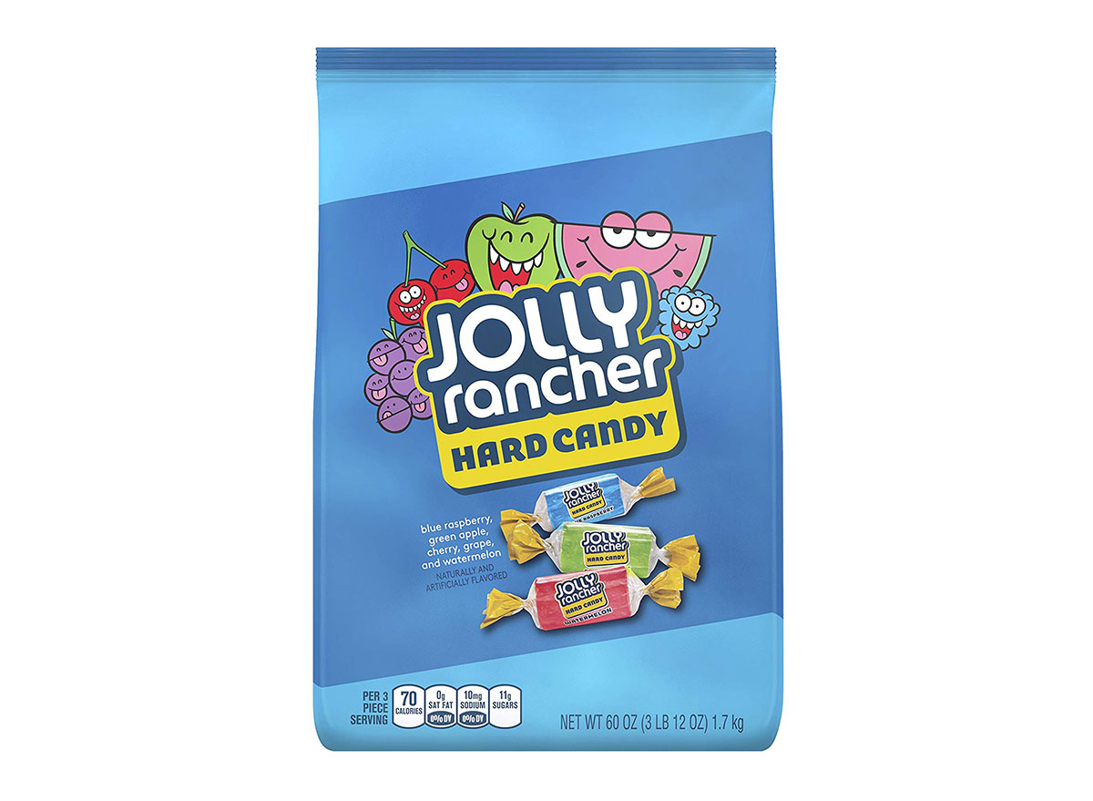 bag of jolly rancher hard candy
