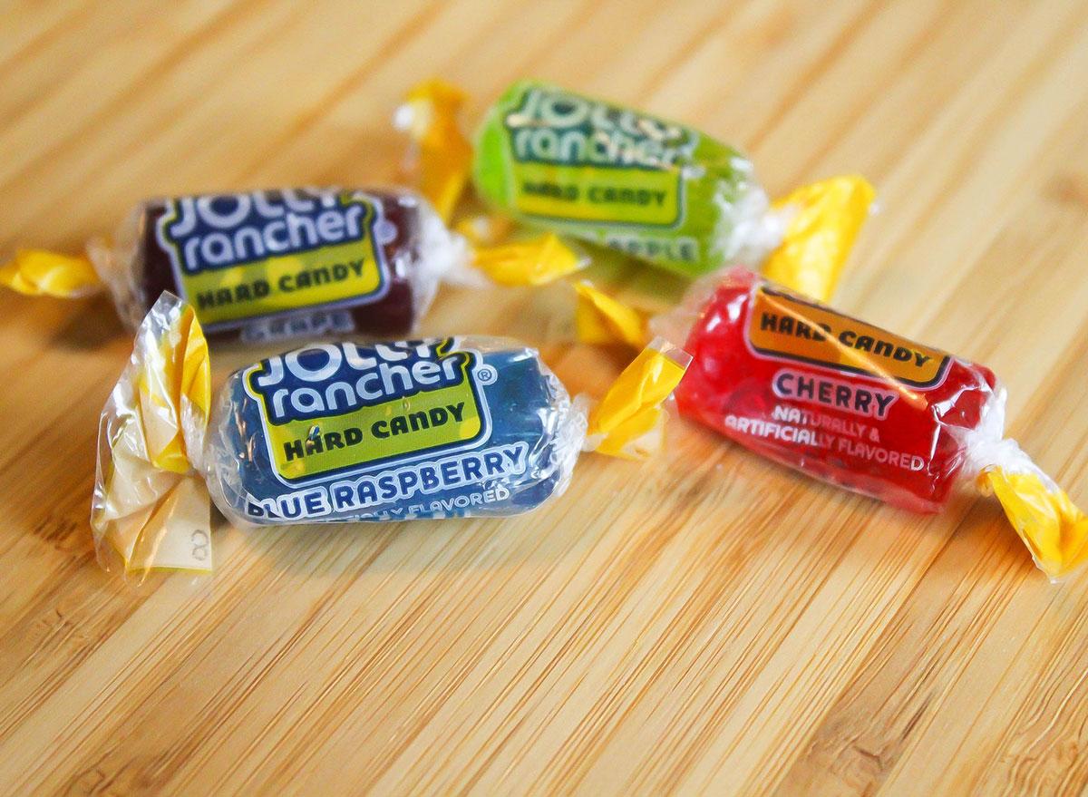 jolly ranchers halloween candy 100 calories