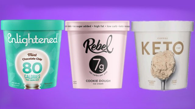 keto ice cream pints variety flavors