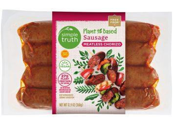 kroger simple truth meatless sausage