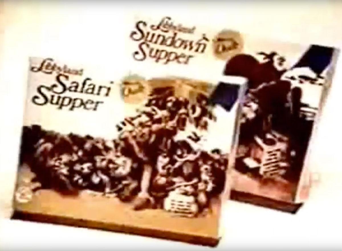 libbyland safari supper tv dinner
