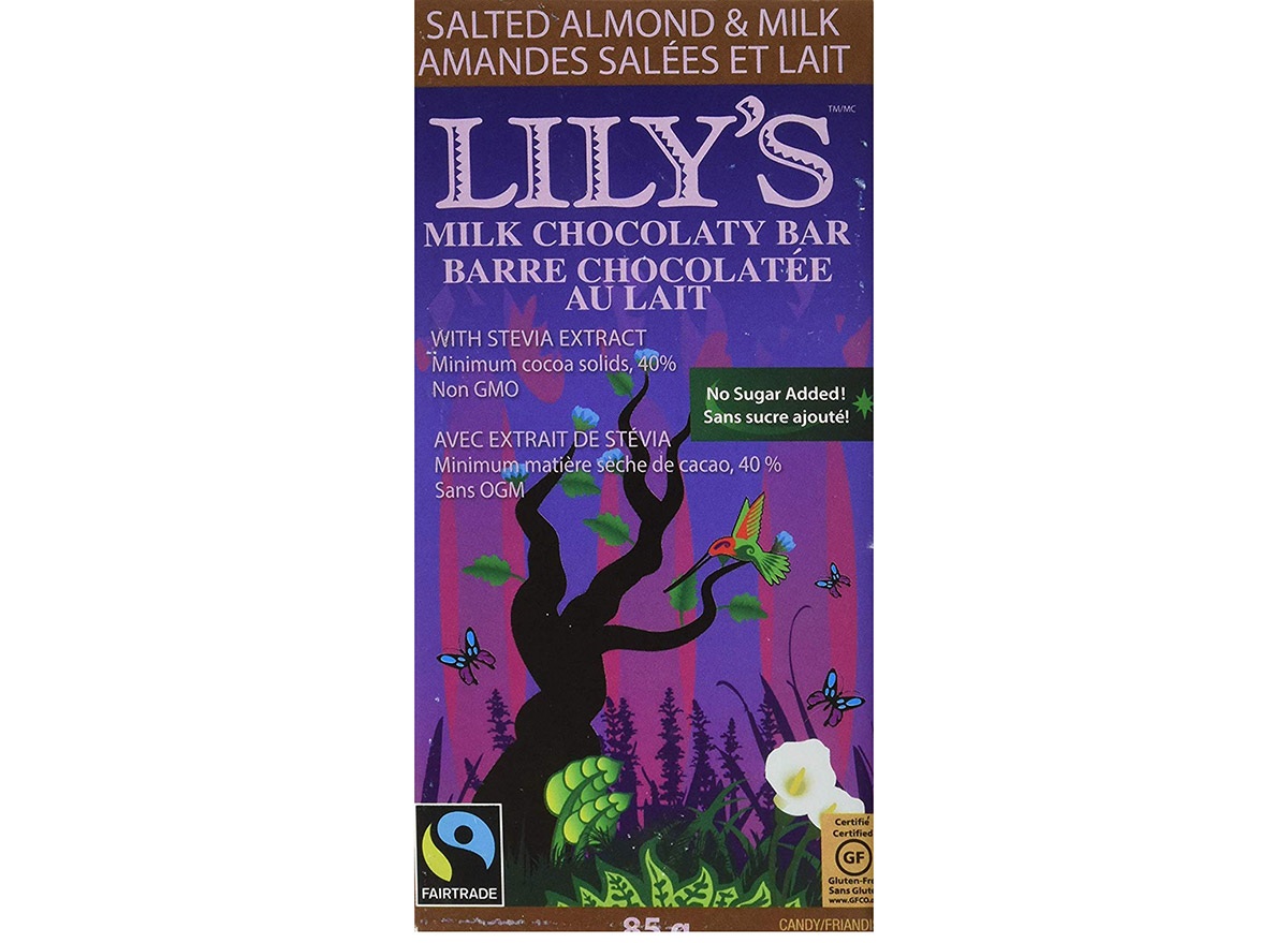 lilys sweets salted almond chocolate