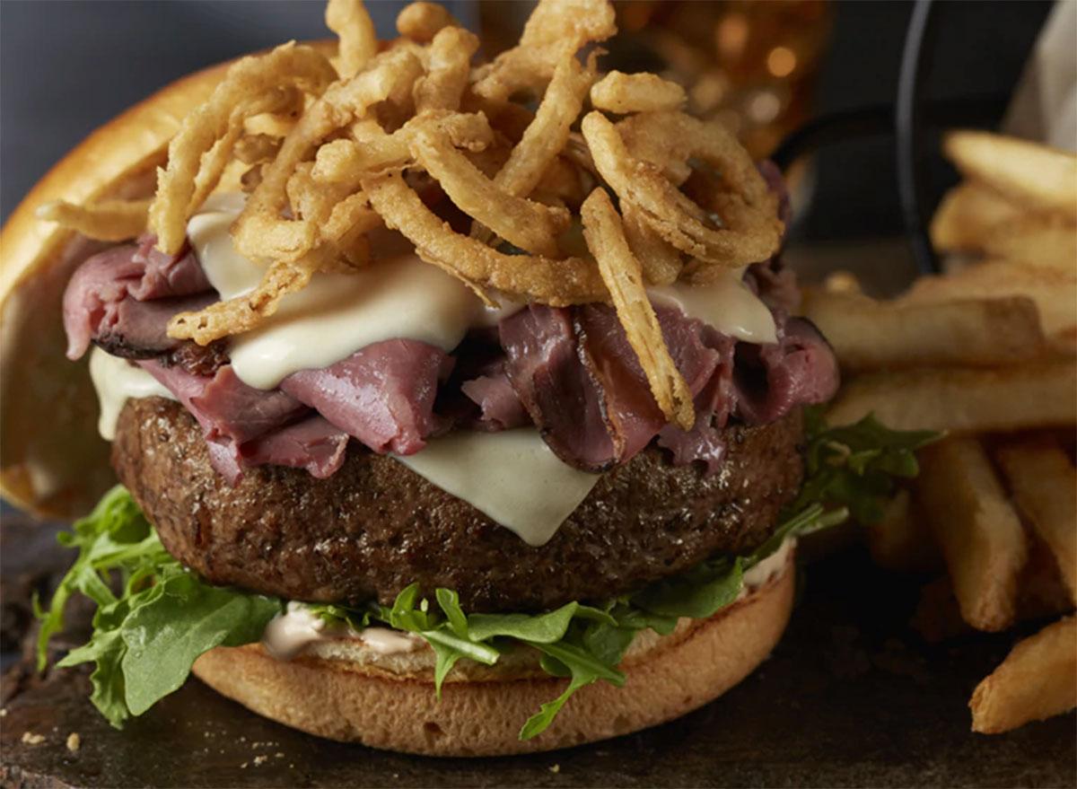 longhorn steakhouse big sky burger