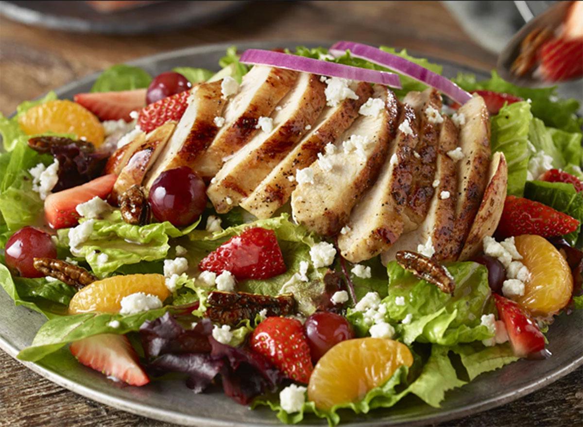longhorn steakhouse strawberry pecan salad