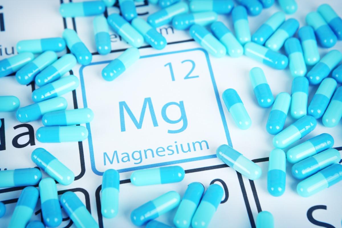 Magnesium - elemental mineral supplement
