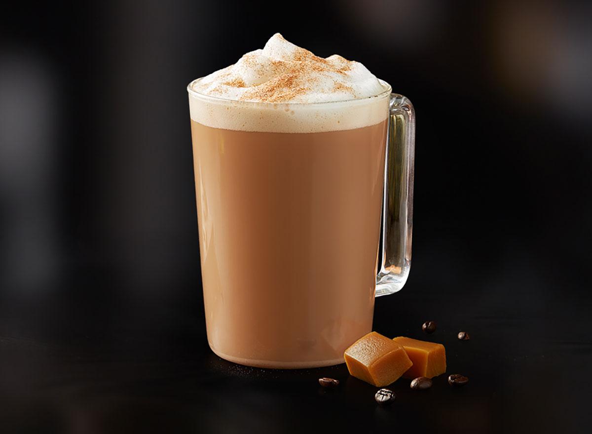 mcdonalds caramel pumpkin spice latte