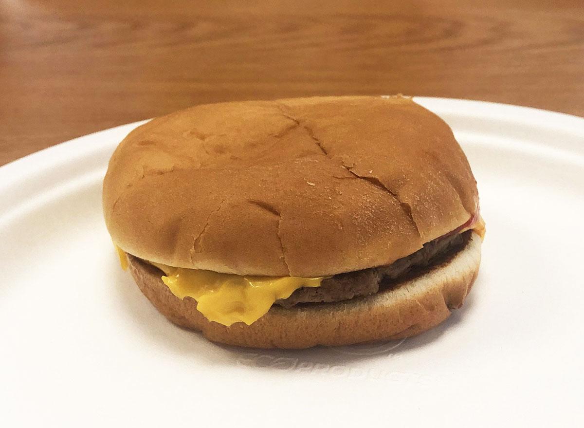 mcdonalds cheeseburger