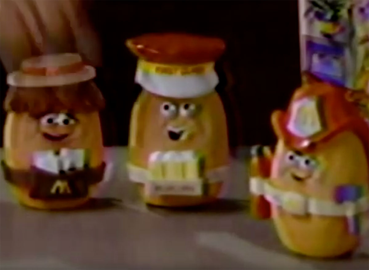 mcnugget buddies happy meal toys