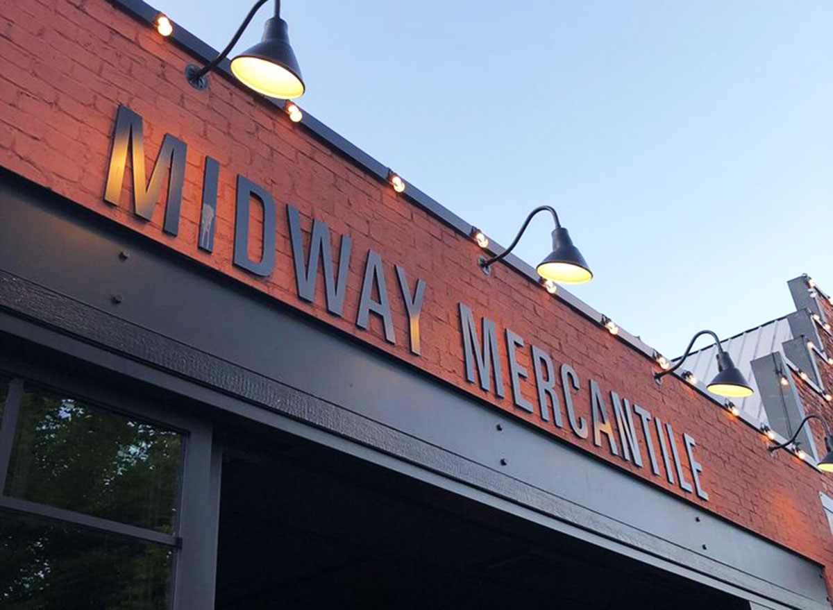 midway mercantile sports bar storefront utah