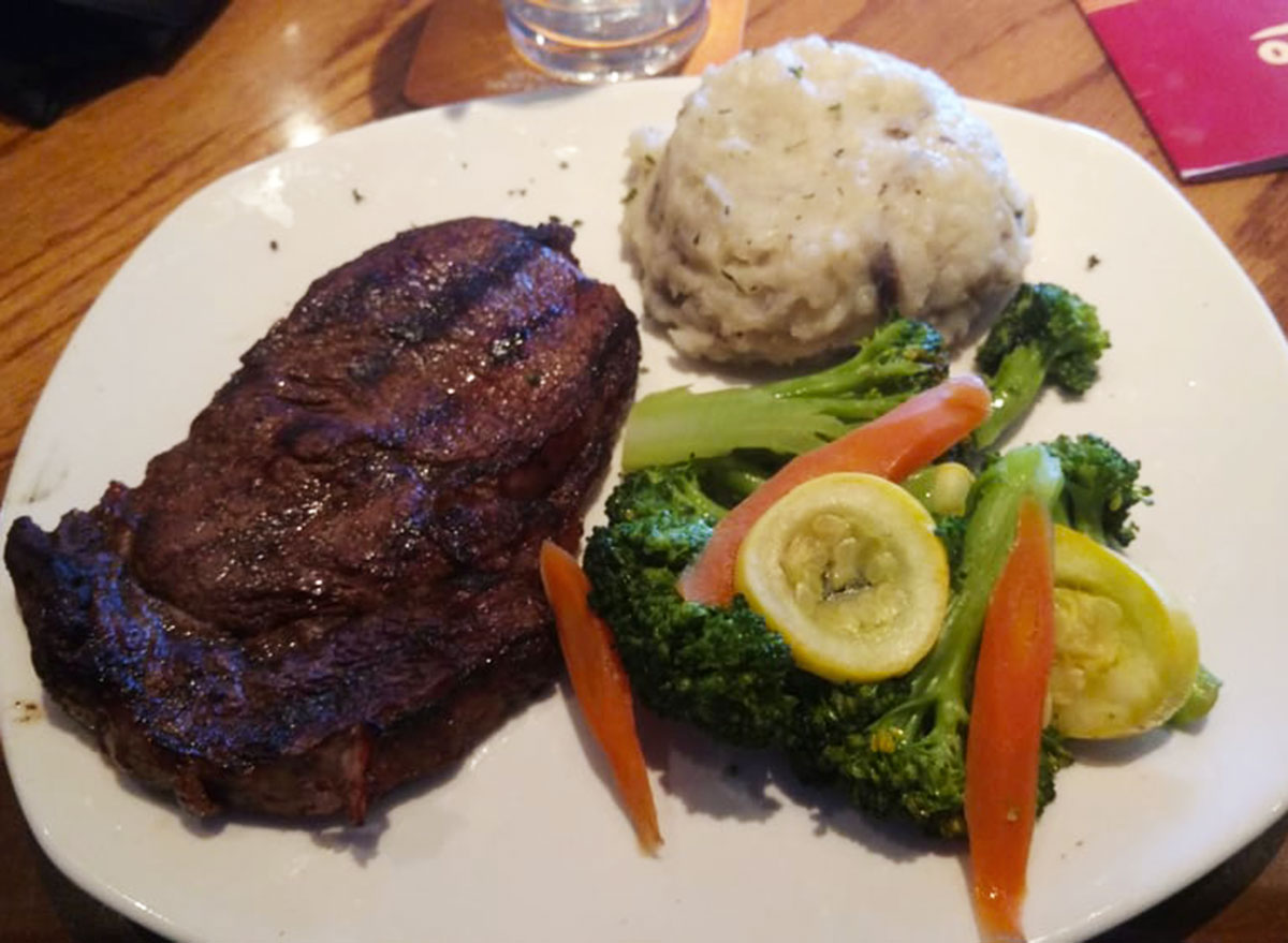 mixed veggies from outback steakhouse