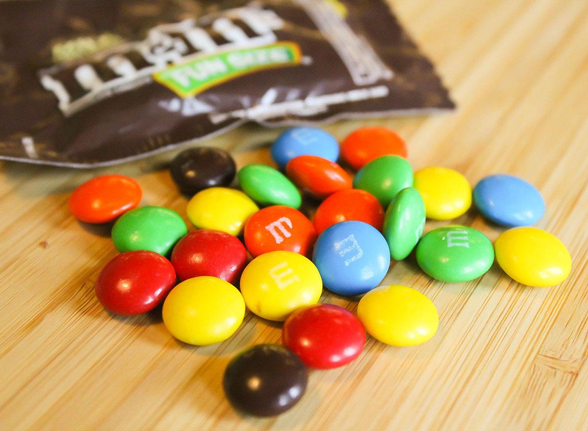 mms halloween candy 100 calories