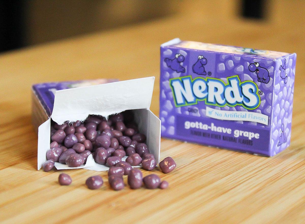 nerds halloween candy 100 calories