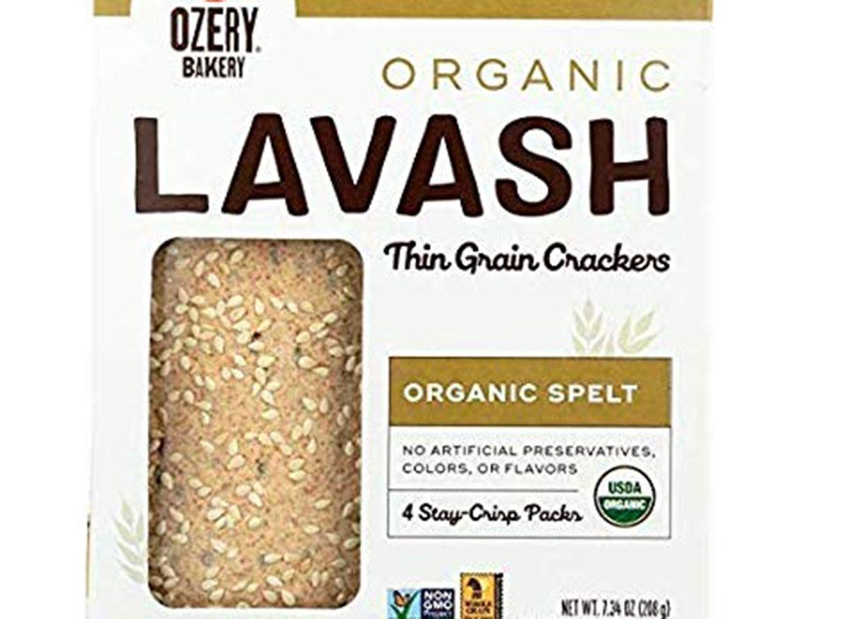 ozery bakery grain crackers in box