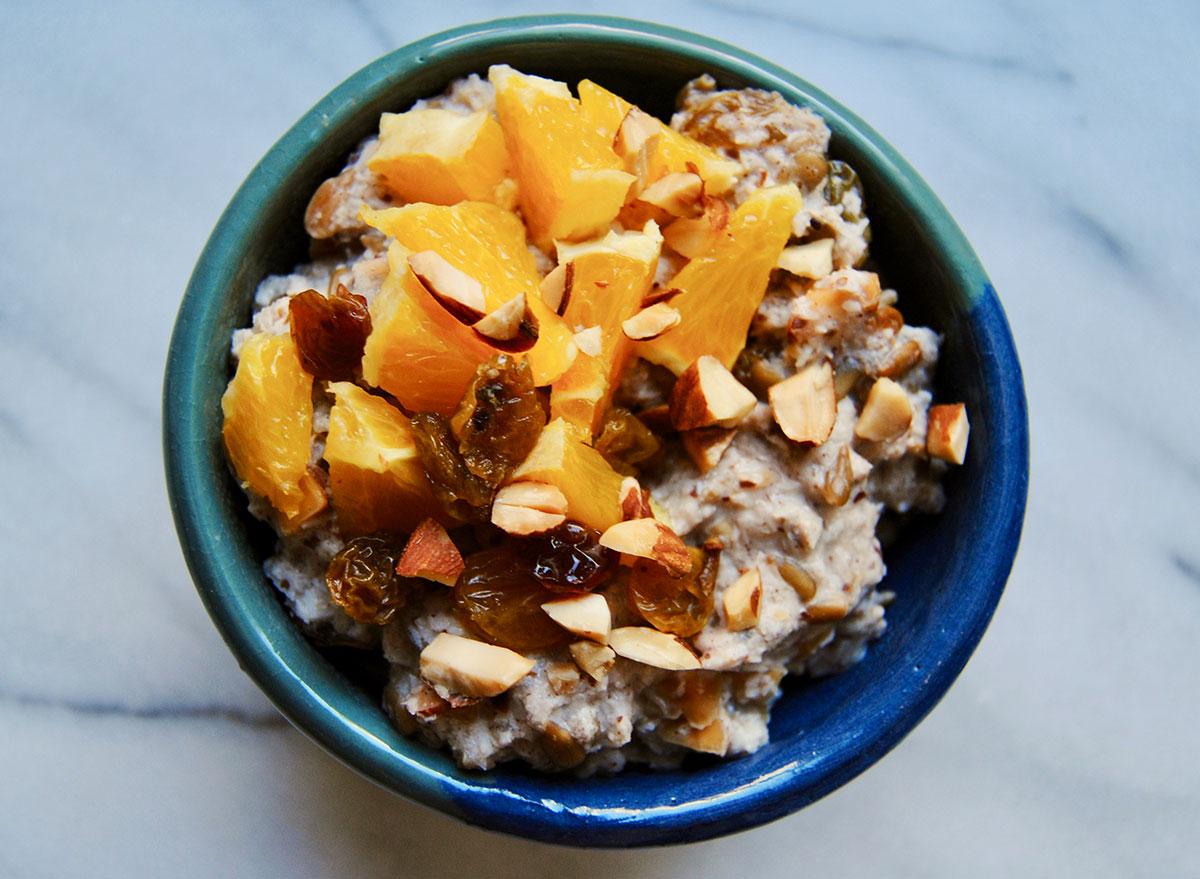 coconut paleo oatmeal