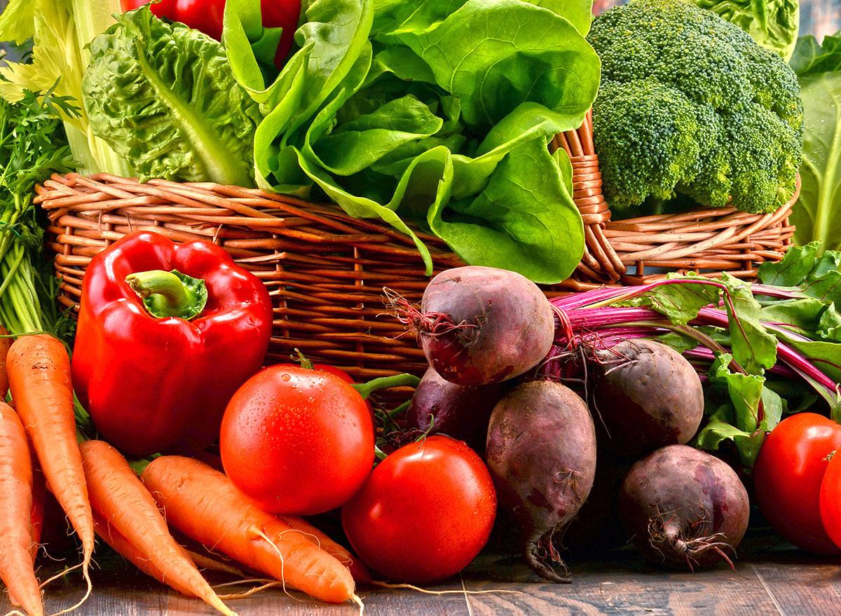 paleo vegetable variety