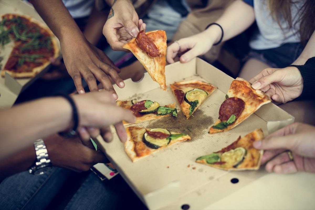 Pizza Sharing