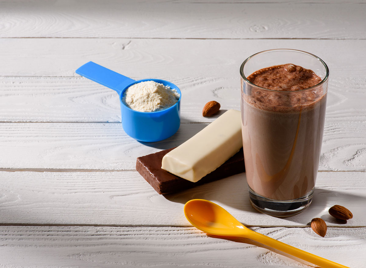 chocolate protein shake for weight loss