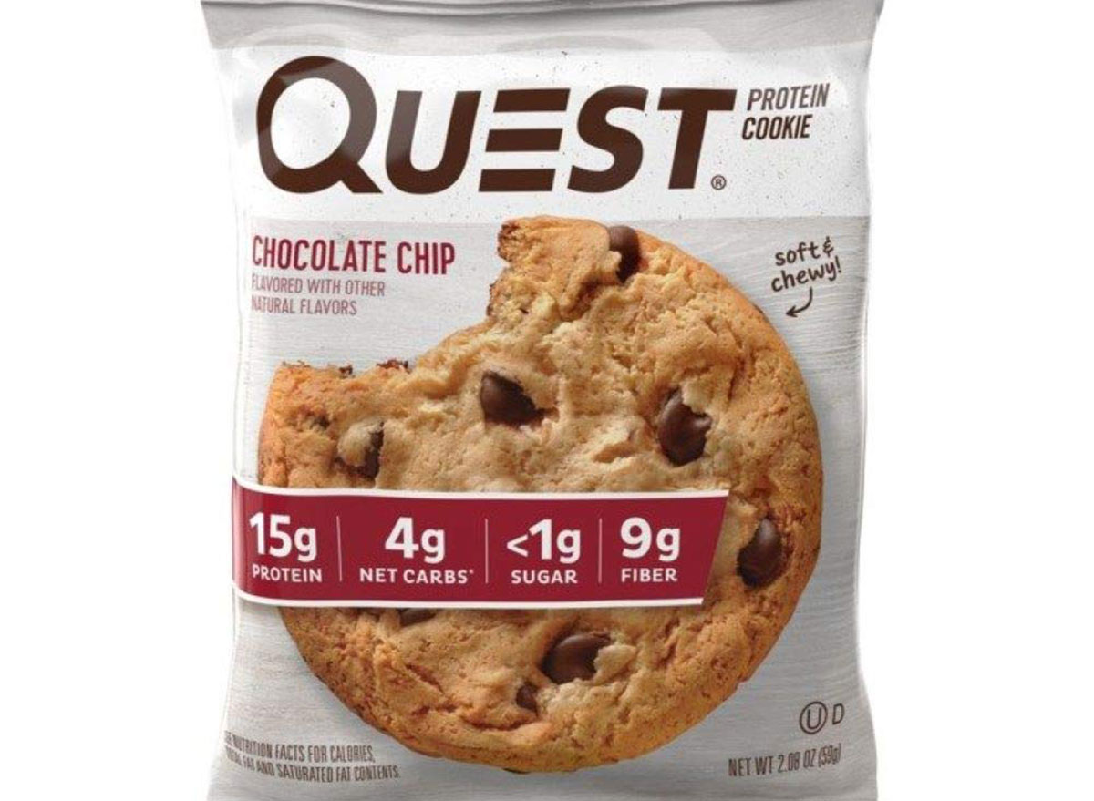 quest protein cookie chocolate chip