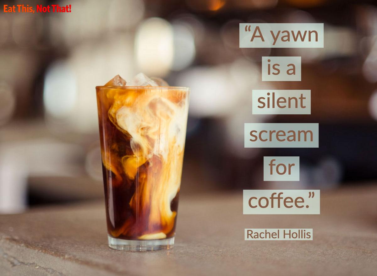 coffee quote rachel hollis
