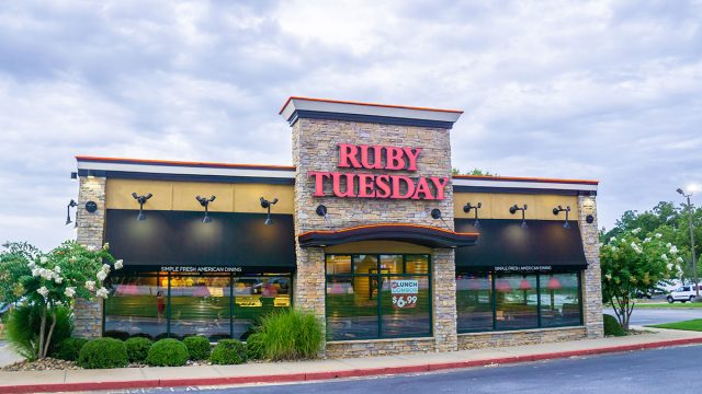 ruby tuesdays storefront