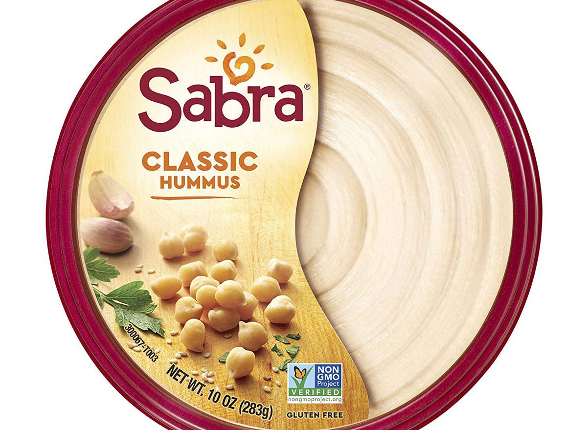 sabra classic hummus in container
