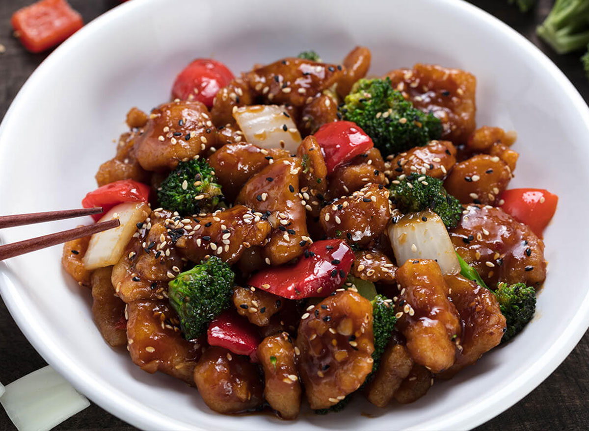 sesame chicken from pf changs