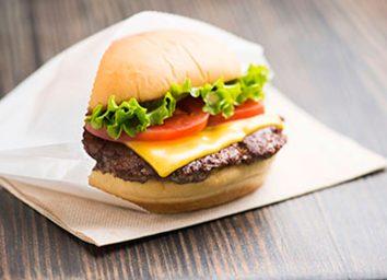 shake shack normal hamburger