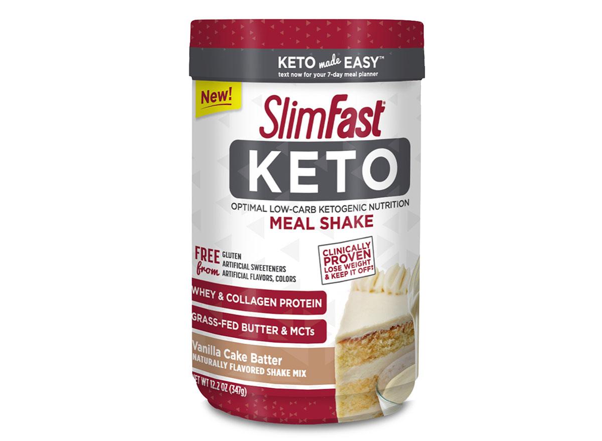 slimfast keto meal shake