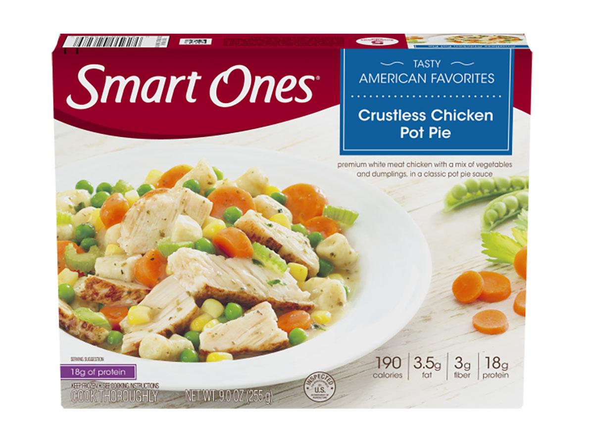 smart ones chicken pot pie tv dinner
