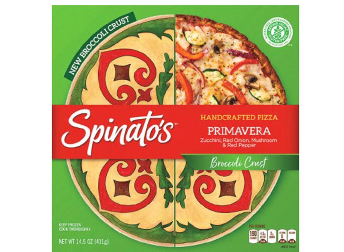 spinatos primavera pizza