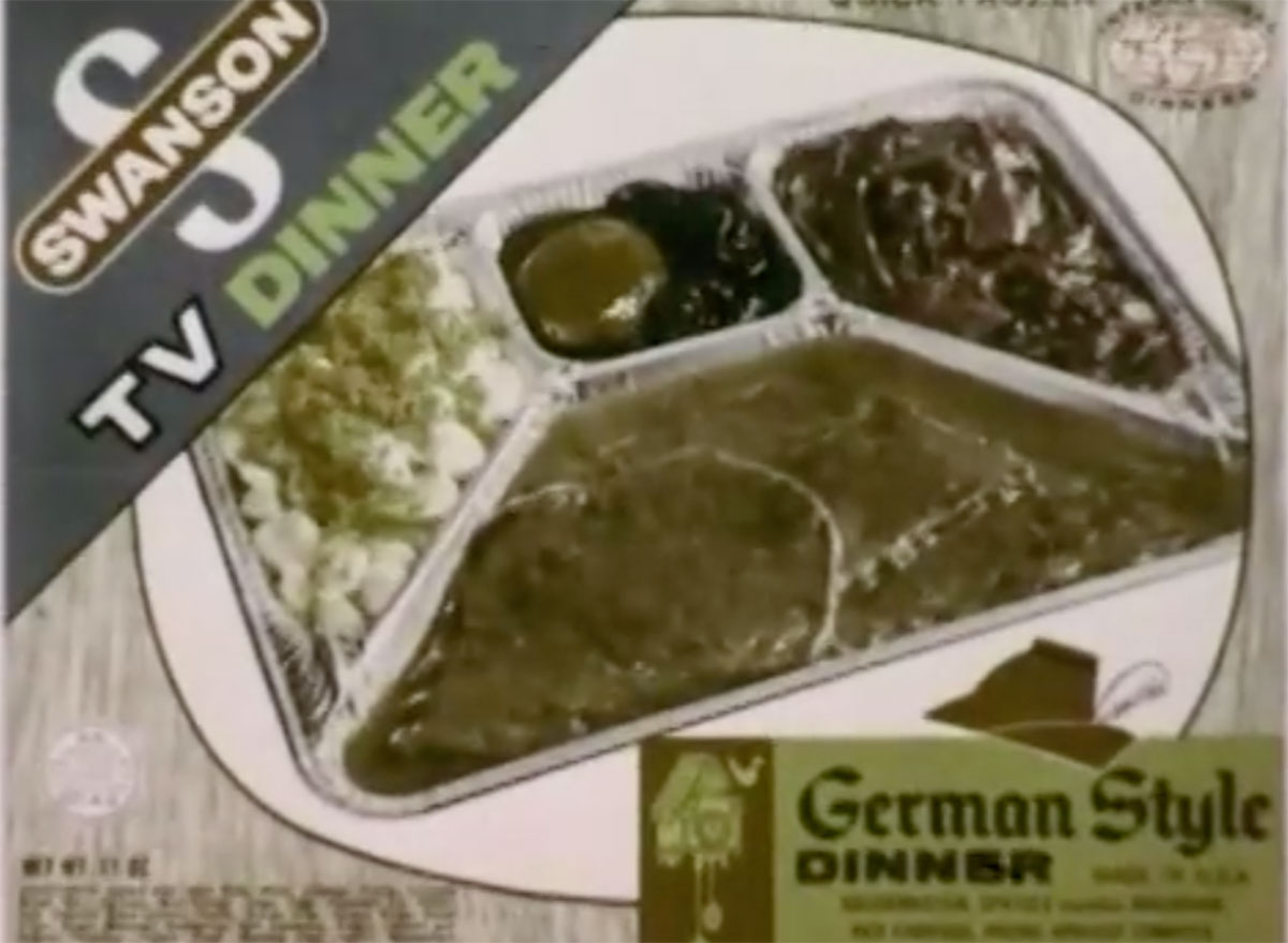 swanson german style tv dinner